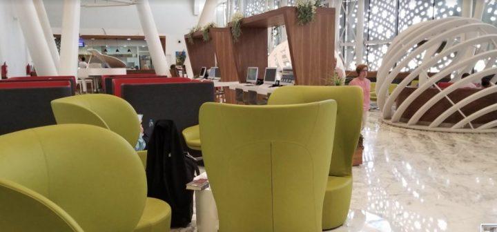 Priority Pass RAK / Marrakech airport lounge: Pearl Lounge review