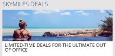 Delta SkyMiles Sale: US flights from 10k, Europe for 22k, Tokyo for 30k, plus more!