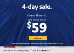 $59? Nope – $49 One-Way Fares Back at Southwest