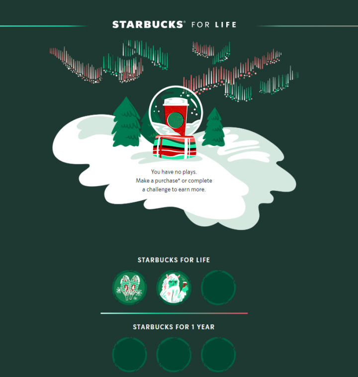 Snag a Free Coffee with the Starbucks for Life Game Right Now